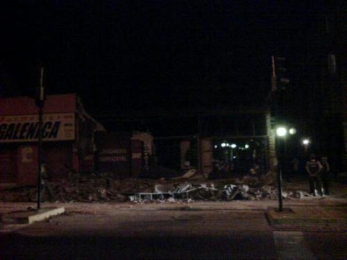 Premières photos du tremblement de terre du Chili