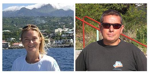 Bérangère et Didier de Bleu Passion Plongée : nouveau centre de plongée sous marine à Bouillante