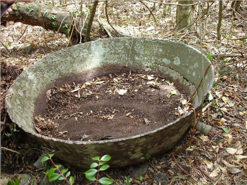 Platine à manioc en fonte