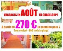 Plus d'informations sur des vacances en août en Guadeloupe à ce prix en cliquant ici