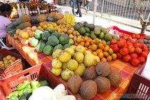 Fruits et légumes de Guadeloupe, une nature de toutes les couleurs @ Photo R Soberka www.photoway.com