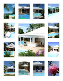 location vacances de villas de charme avec piscine privative guadeloupe