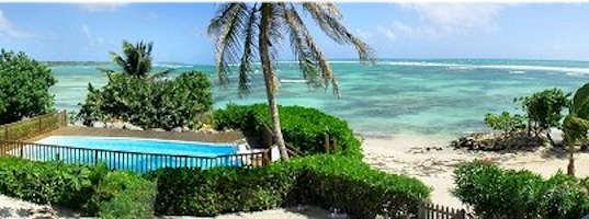 location appartement guadeloupe avec plage privée et piscine
