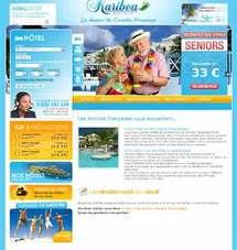 Nouveau site internet de tourisme du groupe Karibéa Hotels