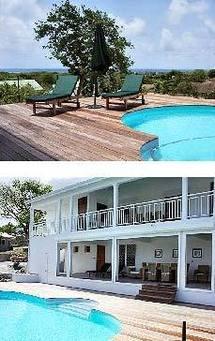 Location villa luxe Guadeloupe à Sainte Anne