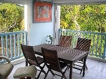 Location appartement bord de mer en Guadeloupe Le Ponton Bleu N°3