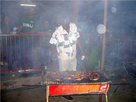 Guadeloupe-grillades-bouillante