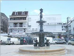 Ville de Pointe à Pitre-fontaine