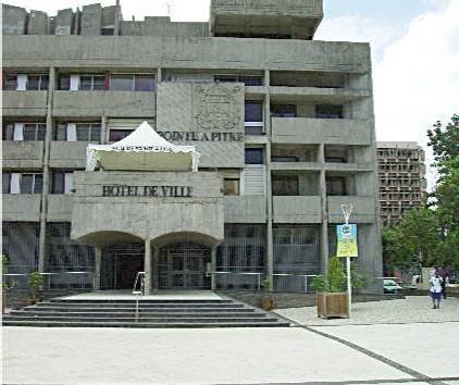 ville de Pointe à Pitre-Mairie