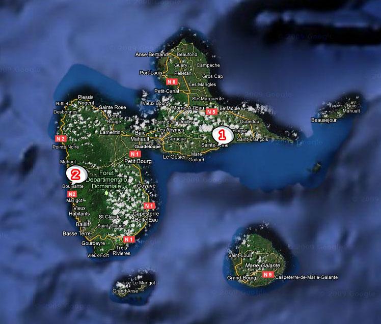 Notre sélection de villas de guadeloupe à découvrir