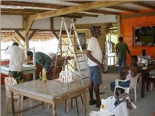 Bouillante-Les travaux avancent, bientôt la réouverture