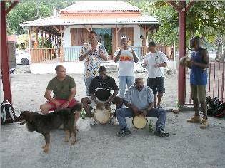 Commune Bouillante, Malendure-musiciens