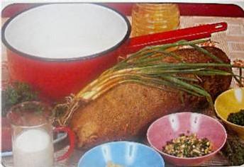 Tous les ingrédients pour un plat créole
