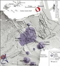 Carte des problèmes sismiques en caraibe