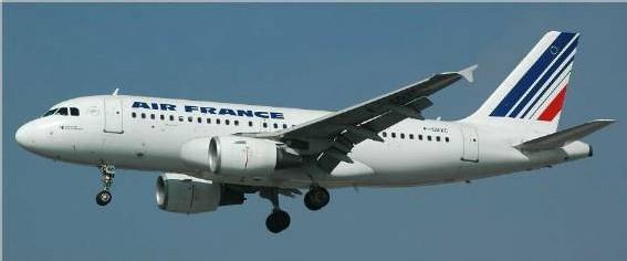 Air bus d'Air France