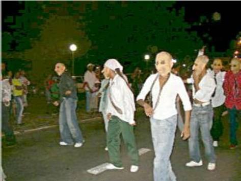 carnaval de Guadeloupe, les masques