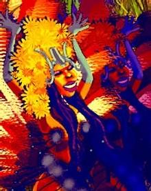 panneau carnavalesque