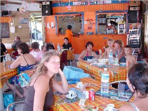 Salle du restaurant Coucher Soleil