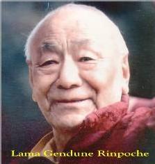 Guendune Rinpoché