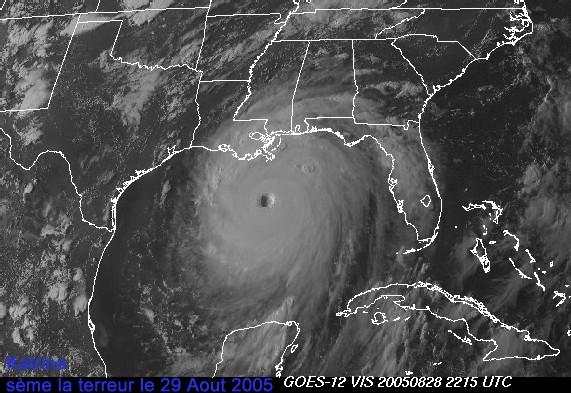 Le cyclone meurtier Katrina