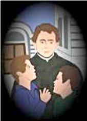 Saint Jean Bosco, gravure
