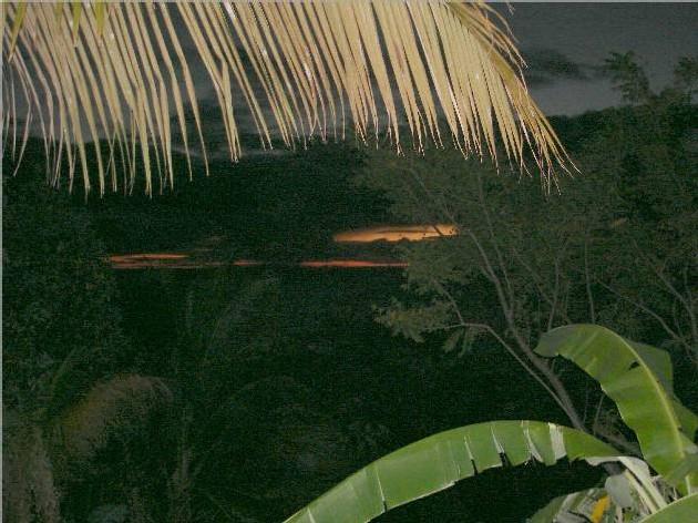 Coucher de soleil à Bouillante