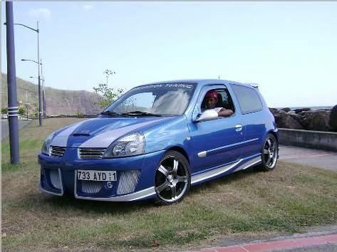 Clio 2007, complètement rénovée.