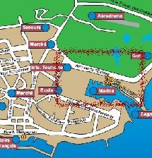 carte saint françois