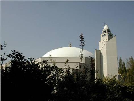 mosquée de bondy, région parisienne.