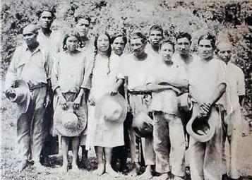 Indiens Caraïbes, début du 20éme siècle