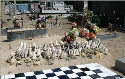 Le cimetière de l'Anse souffleur