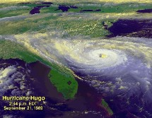 cyclone hugo