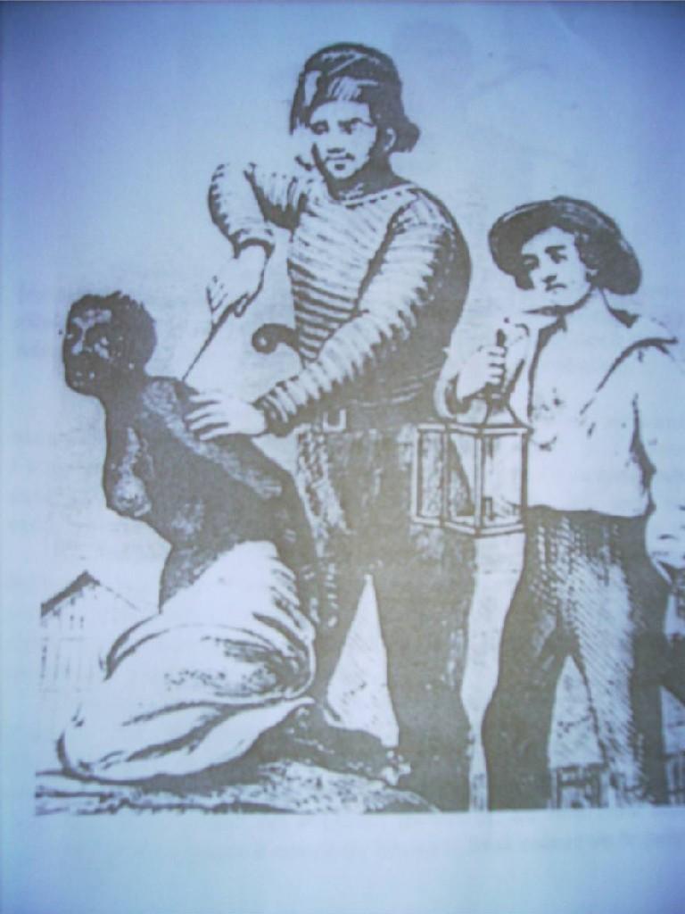 sacrifice d'un esclave