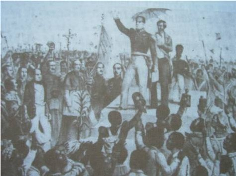 Libération des esclaves.