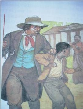 Chatiment d'un esclave