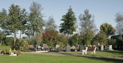 Exemple de cimetière paysager en France métropolitaine
