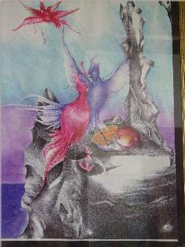 Une oeuvre de Valéry Gabon
