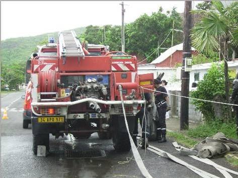 Sapeurs Pompiers de bouillante