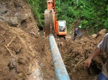 Des travaux titanesques pour rétablir la distribution de l'eau
