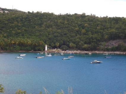météo, webcam, photo en direct de Bouillante, Anse à la Barque, section de Monchy (23 déc. 2008, 14 heures)