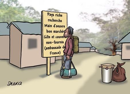 problème de la main d'oeuvre en Guadeloupe