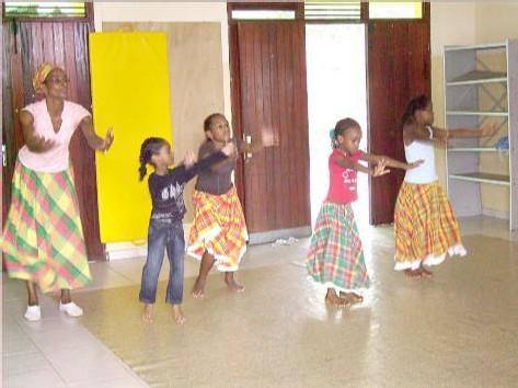 Apprentissage de la danse traditionnelle