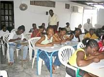 Une école de langue créole