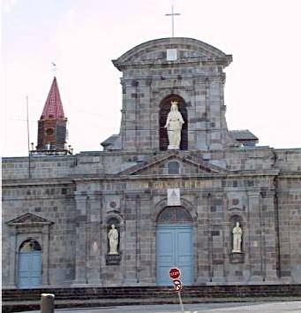 La cathédrale de Basse - Terre
