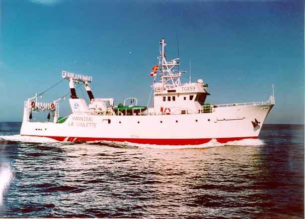 Navire océanographique, Hannibal
