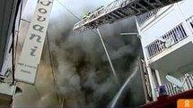 incendie à Pointe à Pitre