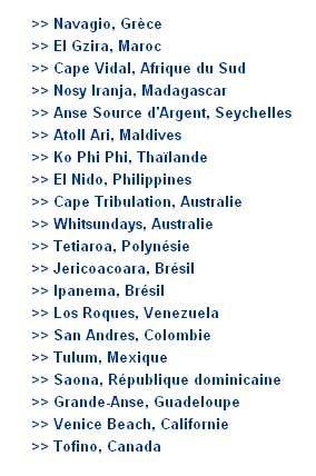 Plage de rêve de Guadeloupe