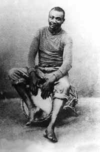 Ti Papa un tanbouyé de génie en 1880 à Pointe à Pitre.