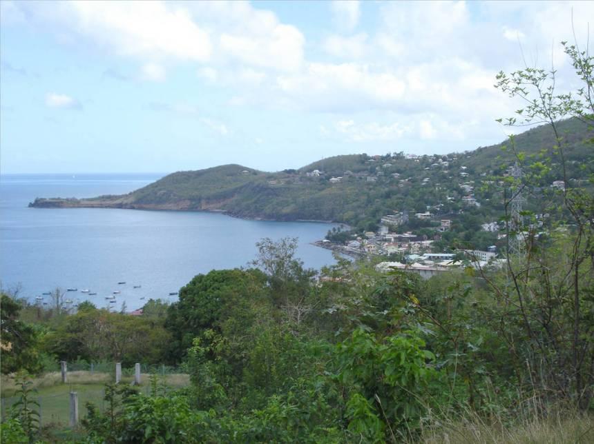 Magnifique panorama de BOUILLANTE et de sa côte. Photo Atout-Guadeloupe