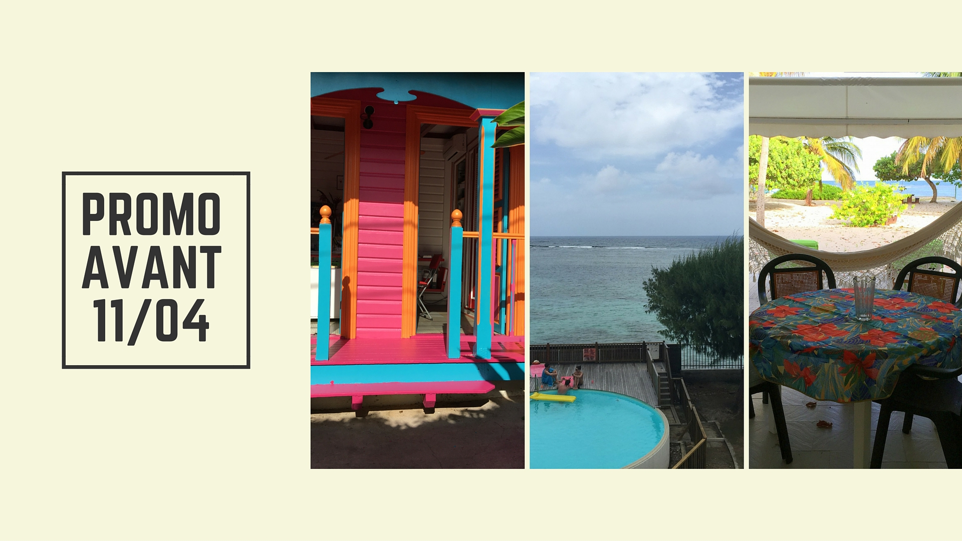 Promotion Guadeloupe Flash : avril, mai, juin, septembre et octobre